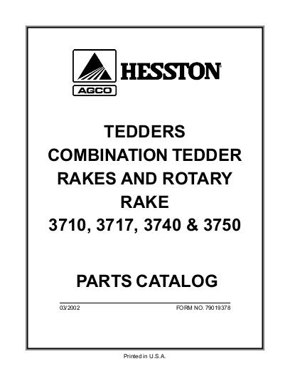 agco technical publications  hesston hay equipment