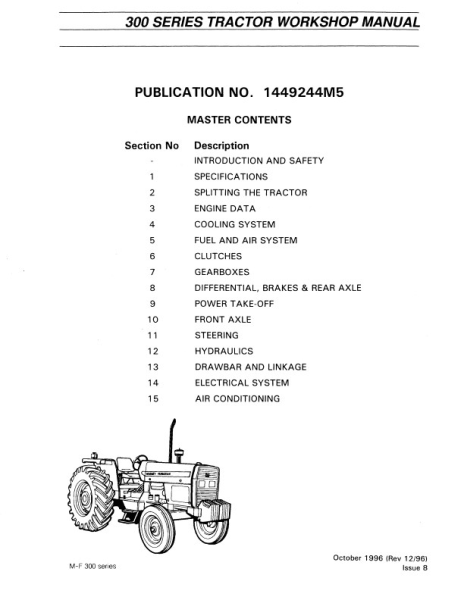 Massey ferguson 383 manual | Massey Ferguson 383 Tractor Data Info