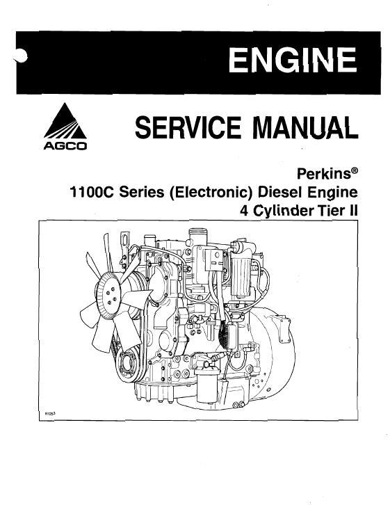 agco technical publications massey ferguson miscellaneous engines rh agcopubs com perkins 1104d service manual perkins 1104c-44 service manual