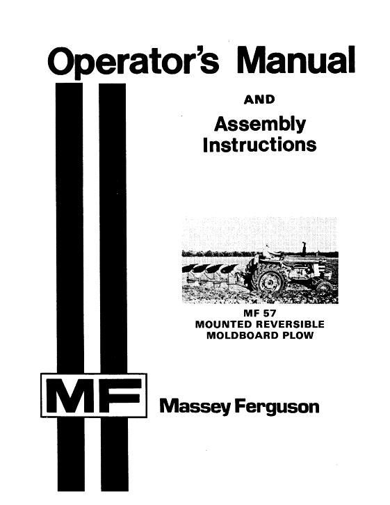 ferguson plough manual