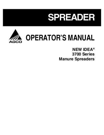 Details about John deere OM-W38955 350 manure spreader operators ...