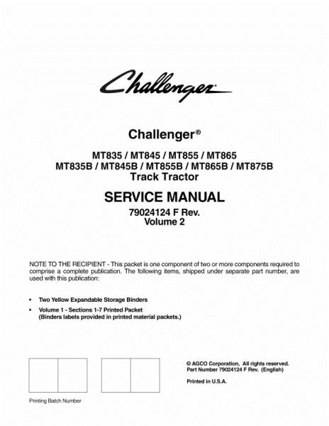 agco technical publications challenger tractors rubber. Black Bedroom Furniture Sets. Home Design Ideas