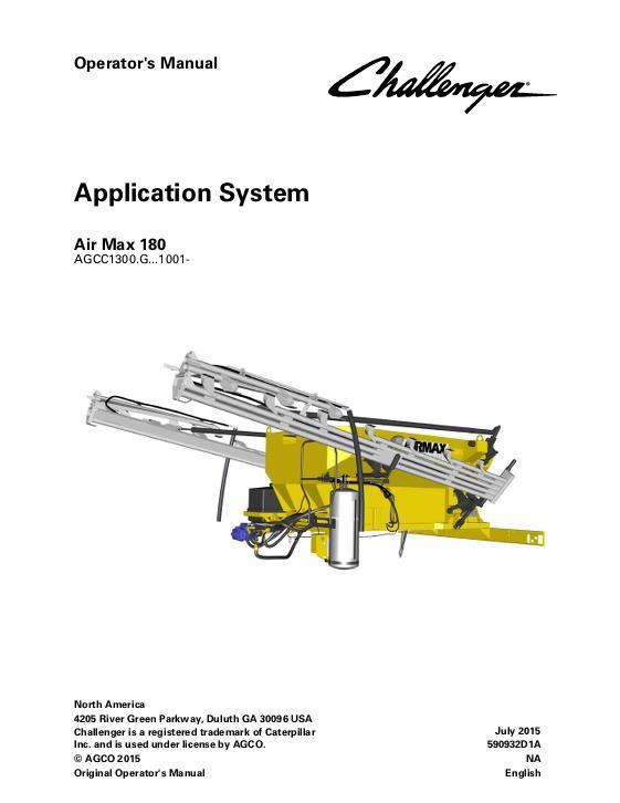 agco technical publications challenger applicators row crop system rh agcopubs com 874 rogator operators manual 874 rogator operators manual
