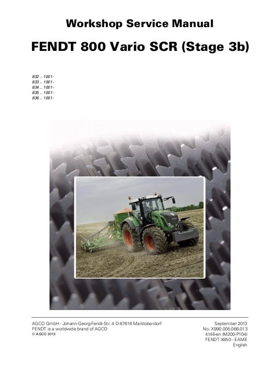 agco technical publications fendt tractors agricultural wheeled rh agcopubs com fendt xylon service manual fendt service manual pdf