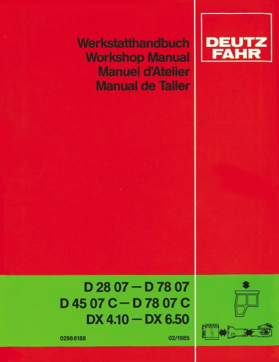 agco technical publications deutz fahr deutz allis tractors rh agcopubs com Deutz-Fahr Agro XXL Deutz-Fahr Agro XXL