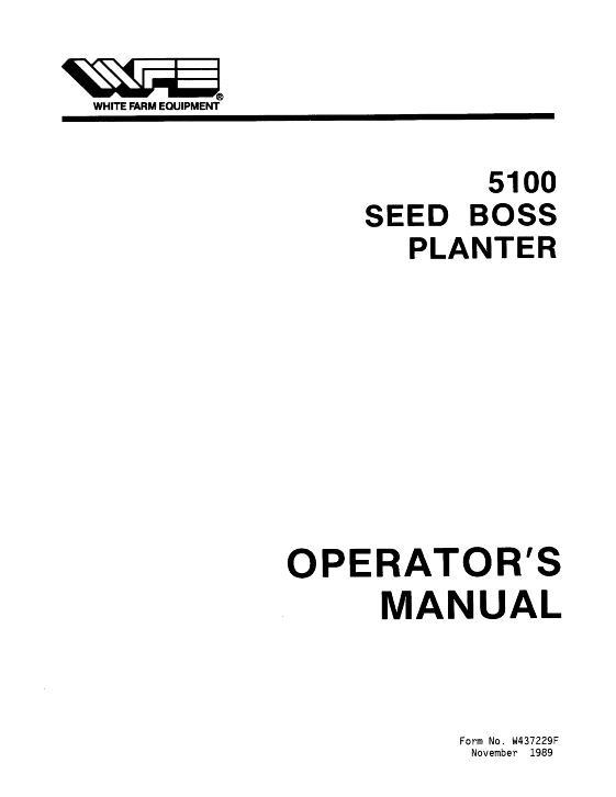 International 5100 grain drill parts catalog | farm manuals fast.