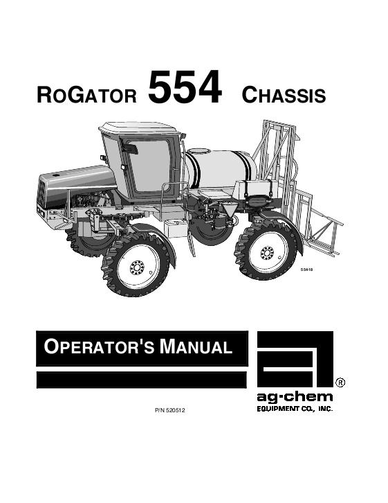 agco technical publications ag chem rogator applicators row crop rh agcopubs com rogator 1274c operators manual rogator 1064 operators manual